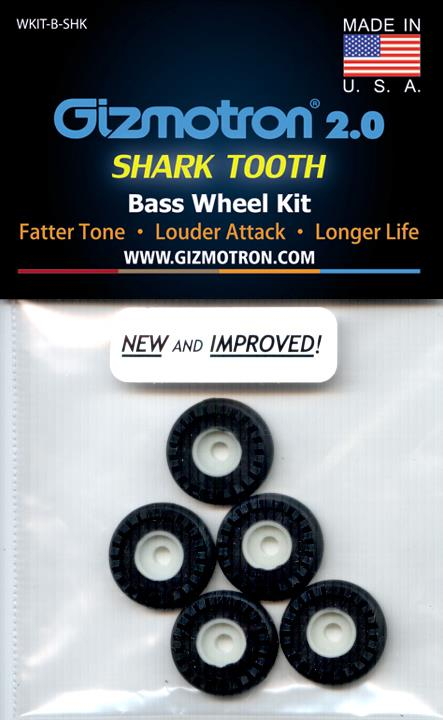 New Shark Tooth Bass Wheels
