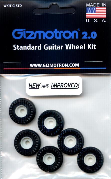 New & Improved Guitar Wheel Set