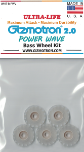 New POWERWAVE Bass Gizmotron Wheels