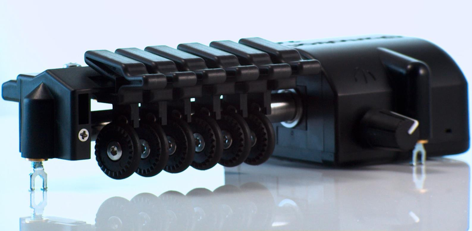 Gizmotron® 2.0 Black Front Angled View