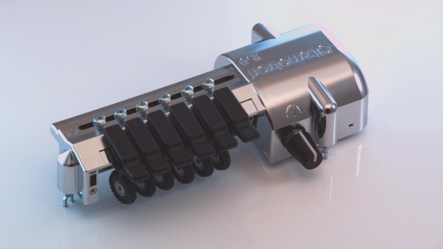 Baritone (Bass VI) Gizmotron® 2.0 (Chrome)