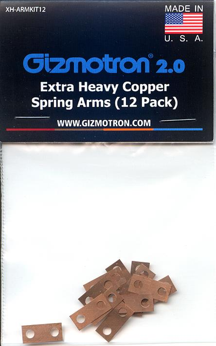 Product: Extra Heavy Copper Springs (12)
