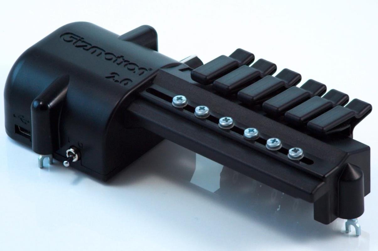 Baritone (Bass VI) Gizmotron® 2.0 (Black ABS)